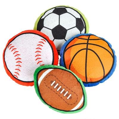 Plush Sports balls