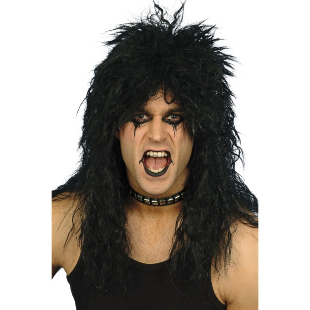 Black Rocker Wig 0955816ec383