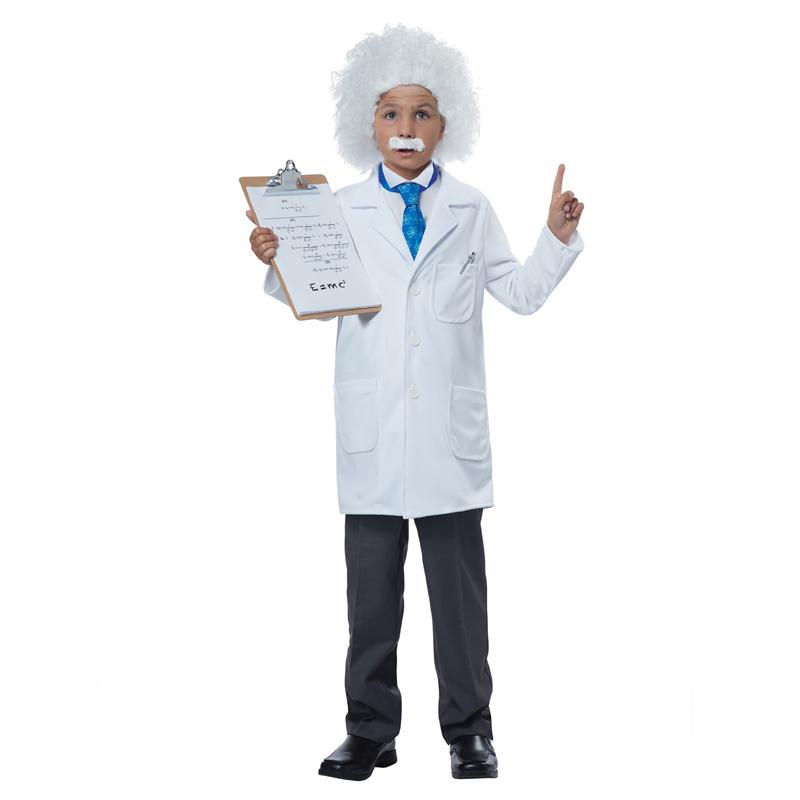 Albert Einstein Physicist Child Costume