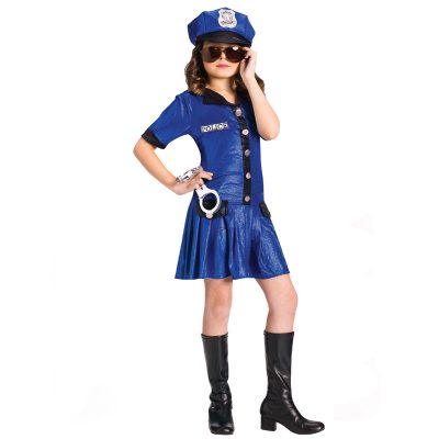 Police Chief Dress Child Costume