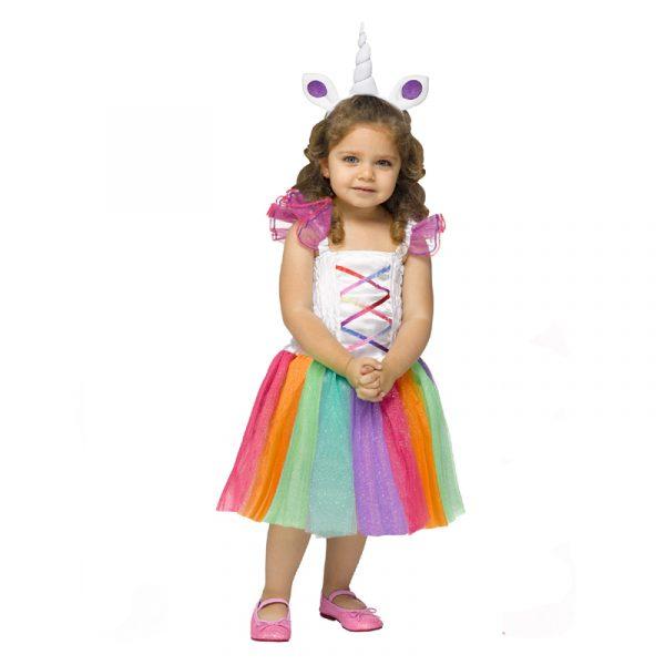 Sparkly Unicorn Toddler Costume
