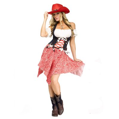 Adult Hoedown Honey Costume