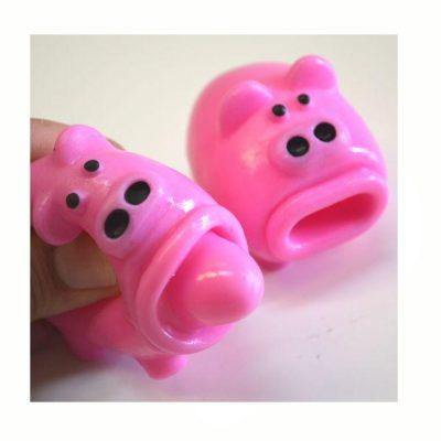 Party Rubber Squeeze Pop-tongue Pig