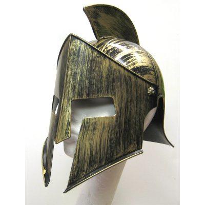 Plastic Medieval Iron Knight Helmet