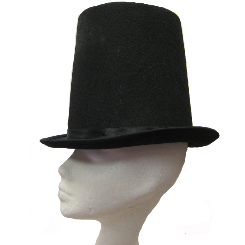 Lincoln Stovepipe felt hat