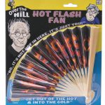 Over the Hill Hot Flash Folding Fan