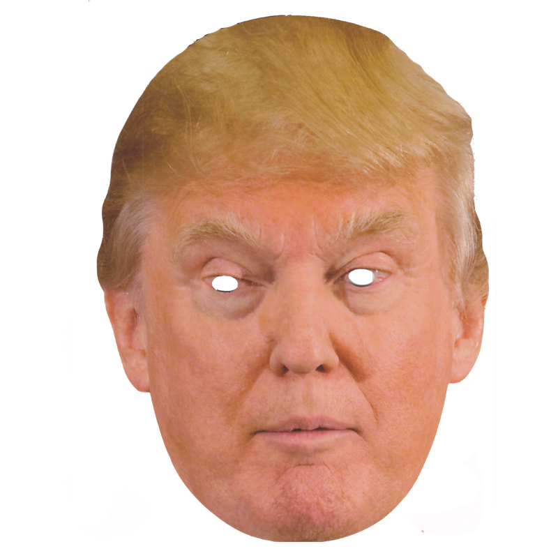 Donald Trump Candidate Party Mask