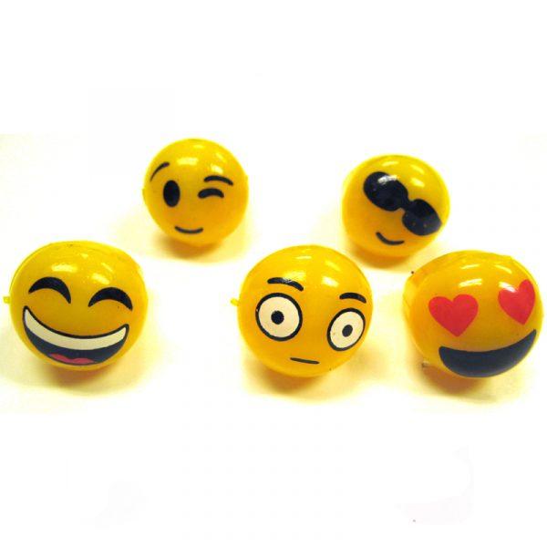 Rubber Light-up Emoji Ring