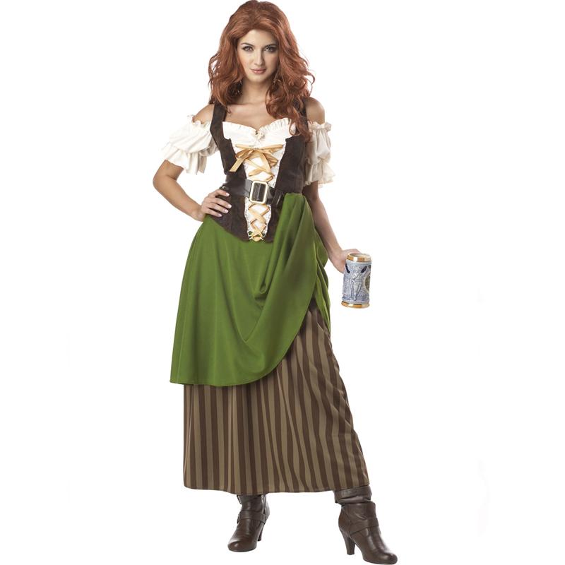 Tavern Maiden Adult Saloon Wench Costume