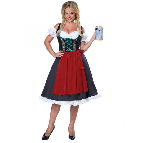Oktoberfest Fraulein Adult German Dirndl Costume