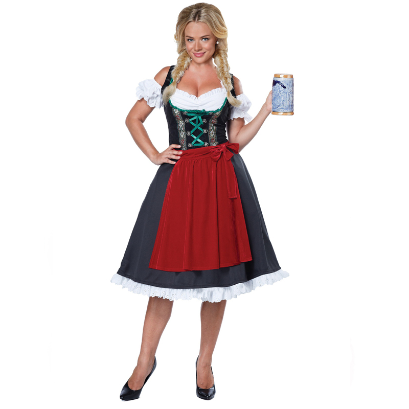 Oktoberfest Fraulein Adult German Dirndl Costume