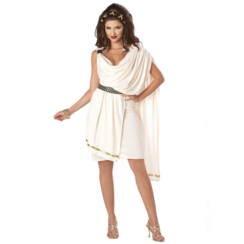 Woman's Deluxe Classic Toga