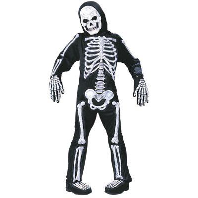 Totally Skelebones Black White Child Halloween Costume