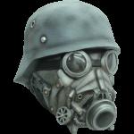 Chemical Warfare Latex Mask