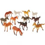 Rubber Horses Assorted Breeds