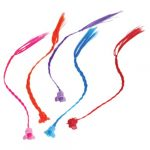 Party Neon Clip-on Nylon Hair Extensions