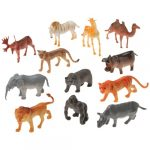 Rubber Wild Animals Assorted Species