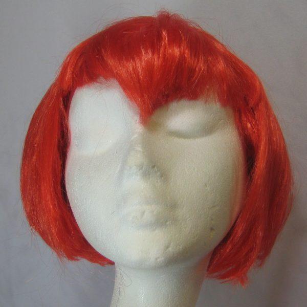 Neon Orange Vampirette Wig