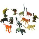 Rubber Rain Forest Animals Assorted Species