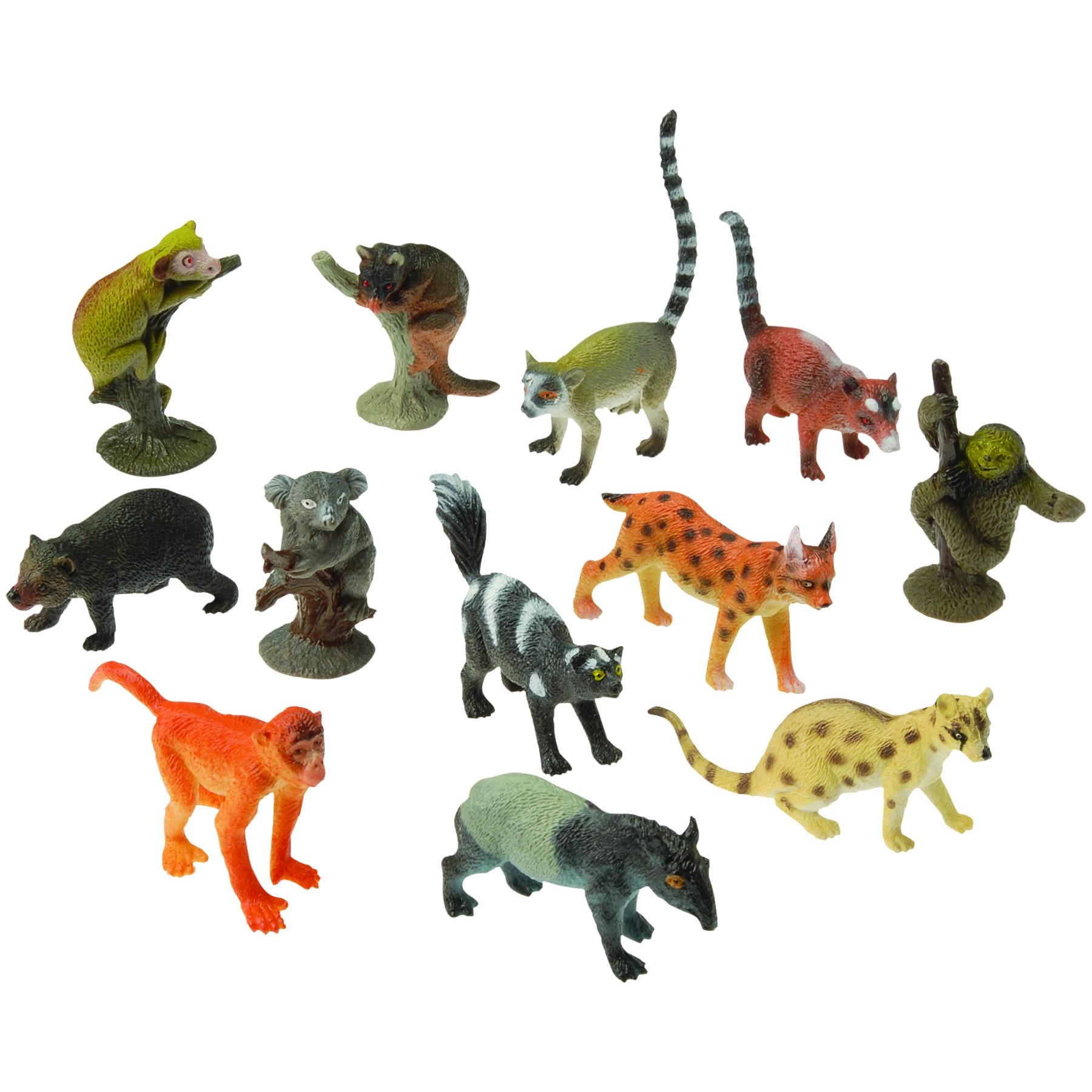 Rubber Rain Forest Animals Asst Breeds - Cappel\'s