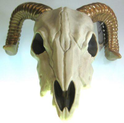 Ram Skeleton Head