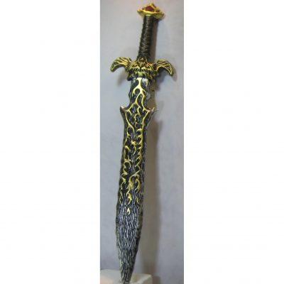 Costume Deluxe Plastic Fire Sword - 33 inch
