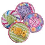 Round Party Plastic Candy Puzzles