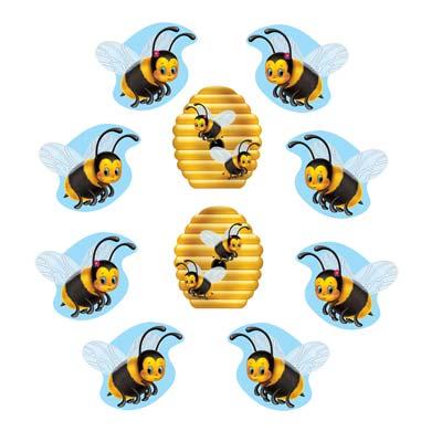Mini Bumblebee Cutouts