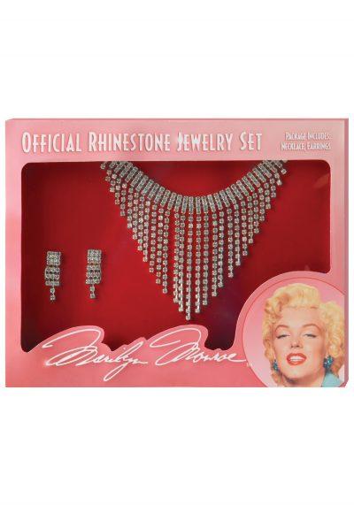 Marilyn Monroe Rhinestone Jewelry Set