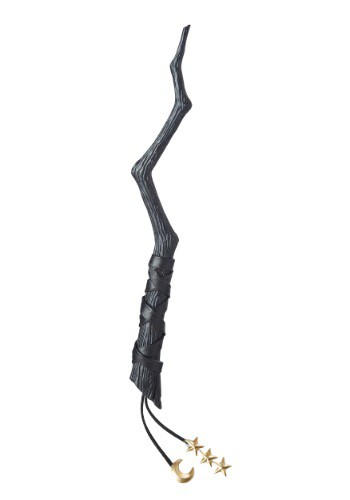 Plastic Witch's Crooked Wand