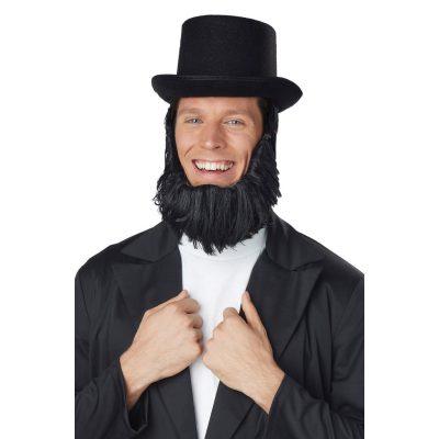 Honest Abe Hat & Beard Getup