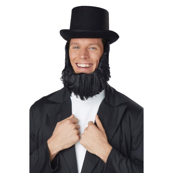 Honest Abe Hat & Beard Getup