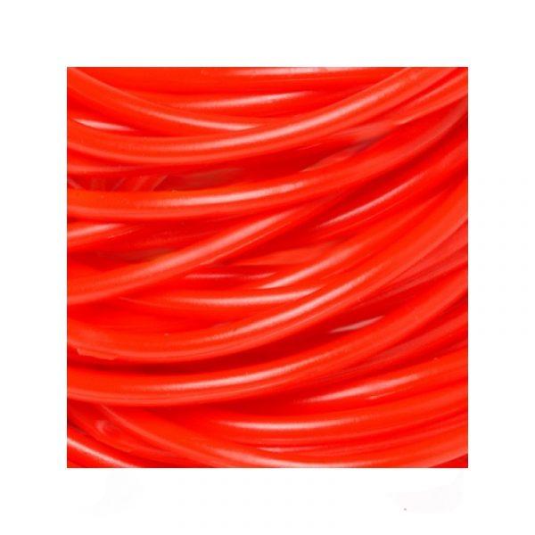 Red Rubber Team Spirit Bracelets