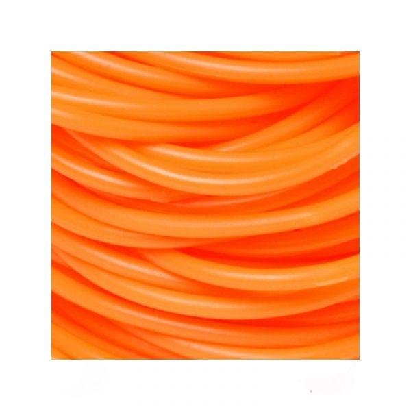 Orange Rubber Team Spirit Bracelets