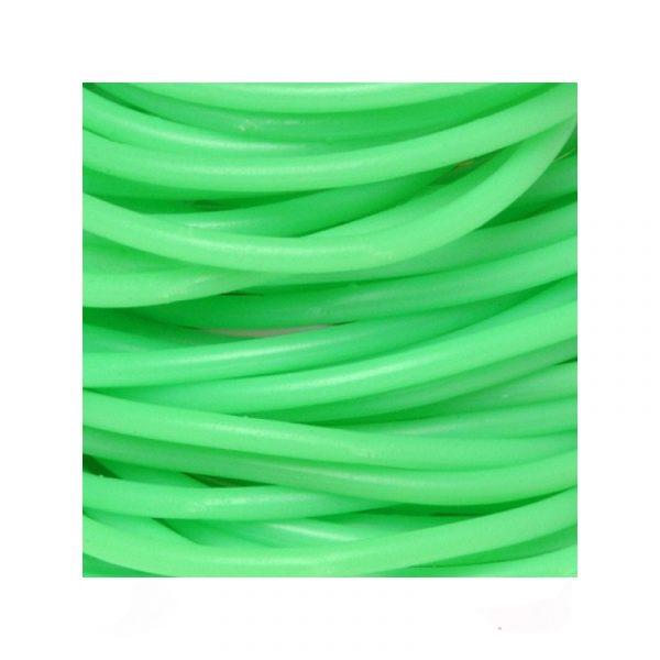Lime Green Rubber Team Spirit Bracelets