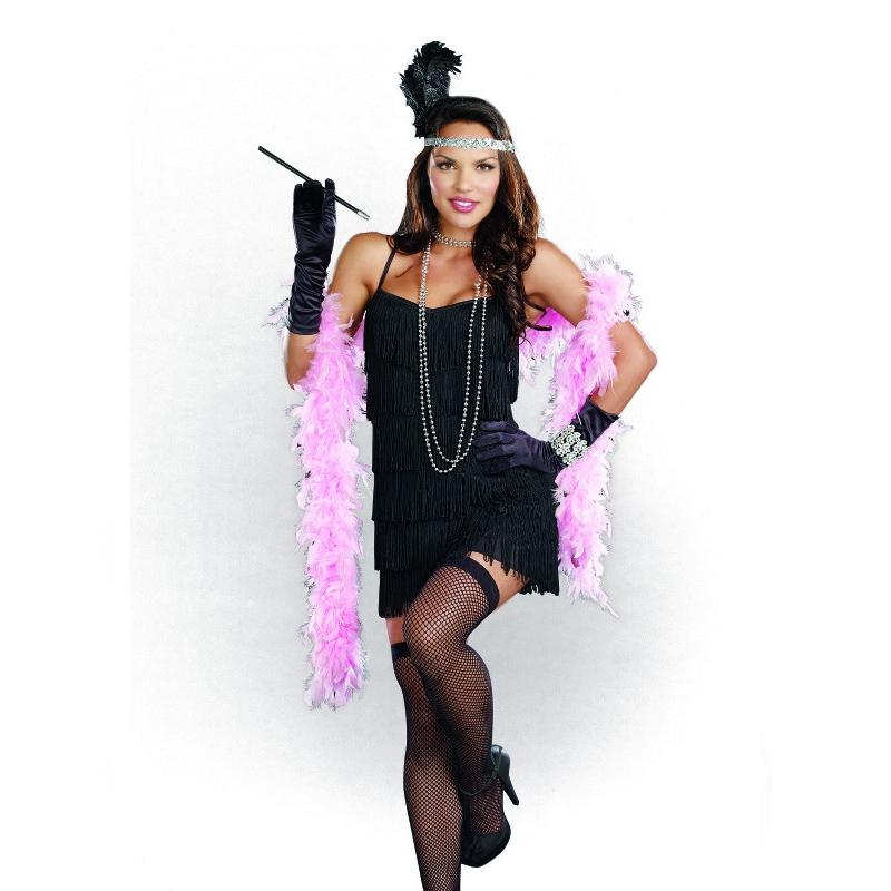 short flapper dress costume starter