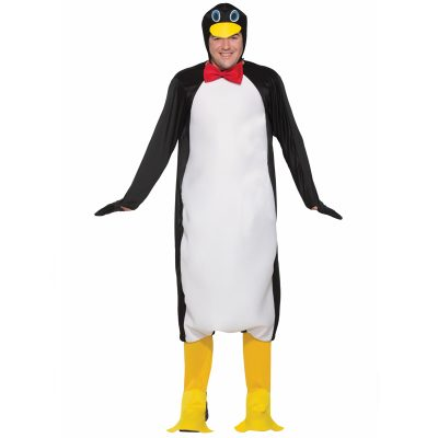 Plush Penguin Adult Costume