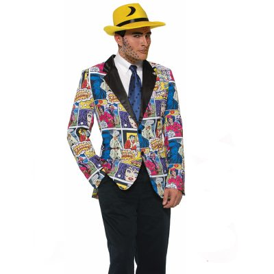 Pop Art Blazer Adult Costume Jacket