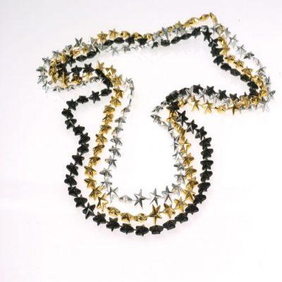 Small Star Bead Necklaces - Dozen