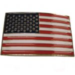 Belt Buckle US Flag