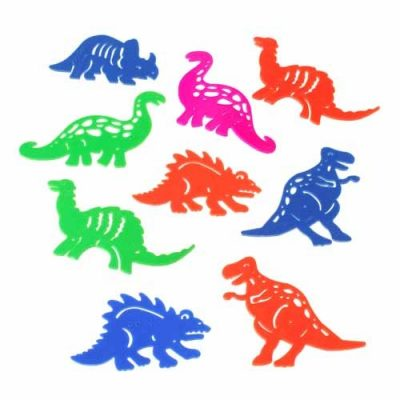 Plastic Dinosaur Tracer