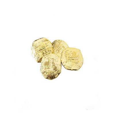 Metallic Gold Plastic Ancient Coins