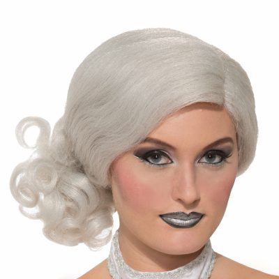 Enchanted Elegance White Wig