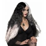 Wicked Mist Black White Wig