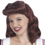 40s Lady Wig is available Auburn