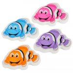 Clown Fish Erasers Dozen
