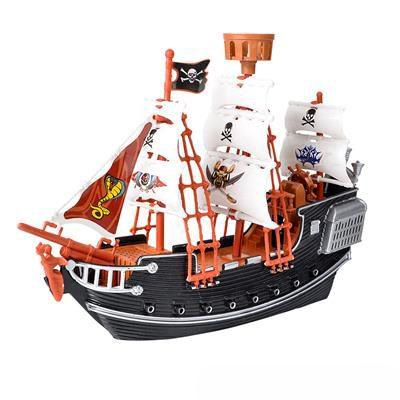 Deluxe Plastic Pirate Ship Set