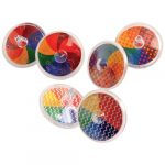 Small Party Spinning Tops Rainbow Colors