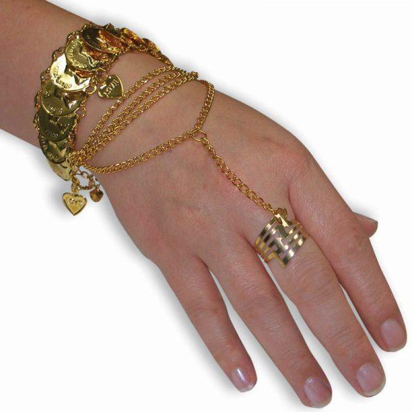 Costume Metal Princess Hand Jewelry