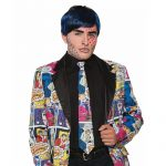Costume Fabric Pop Art Comic Long Tie